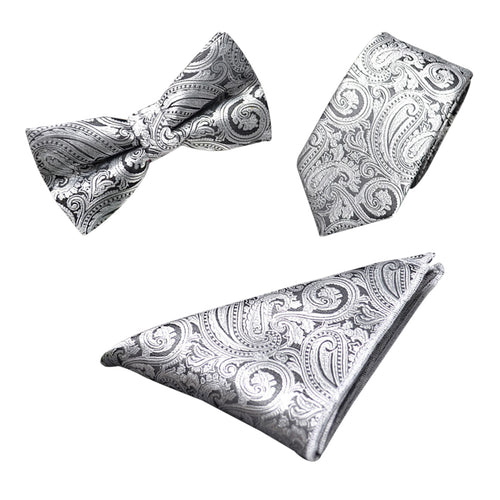 Paisley 3-Piece Bow-tie set 6 Styles
