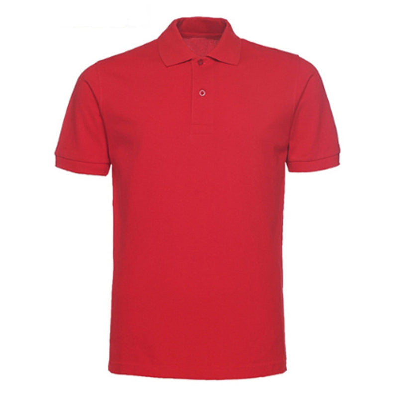 Red Series Polos Turn-Down Collar Shirt