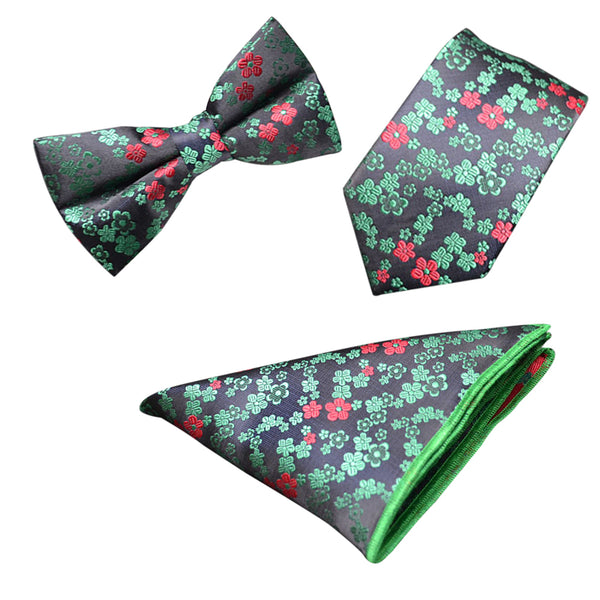 Floral 3-Piece Bow-tie 5 Styles - Cloudstyle