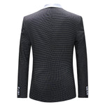 3-Piece Slim Fit Houndstooth Suit 2 Colors - Cloudstyle