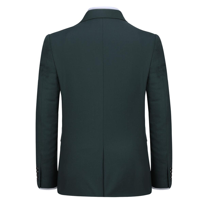Dark Green Stylish Blazer One Button Casual Blazer
