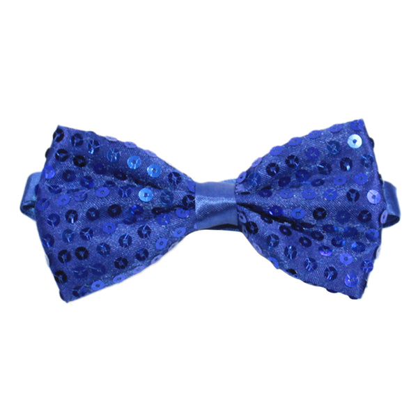 Sequin Adjustable Length Bow Tie 8 Colors - Cloudstyle