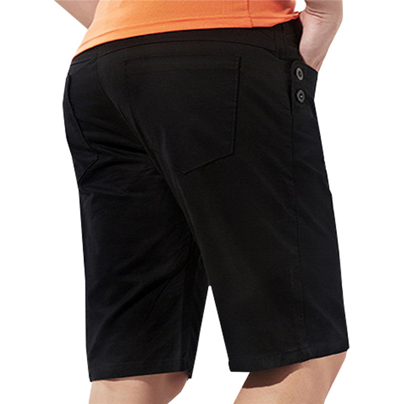Slim Fit Summer Shorts Black