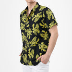 Print Black Shirt Summer Shirt