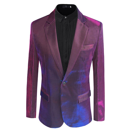 Slim Fit Paisley Fashion Blazer 3 Colors