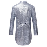 Ornate Sequin Tailcoat 5 Colors - Cloudstyle