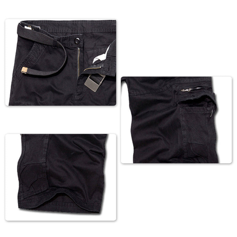 Copy of Loose Summer Casual Shorts Black