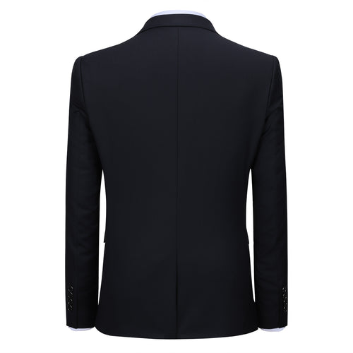 Black Stylish Blazer One Button Casual Blazer