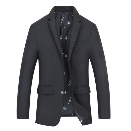 Black Fashion Jacket Slim Fit Casual Blazer