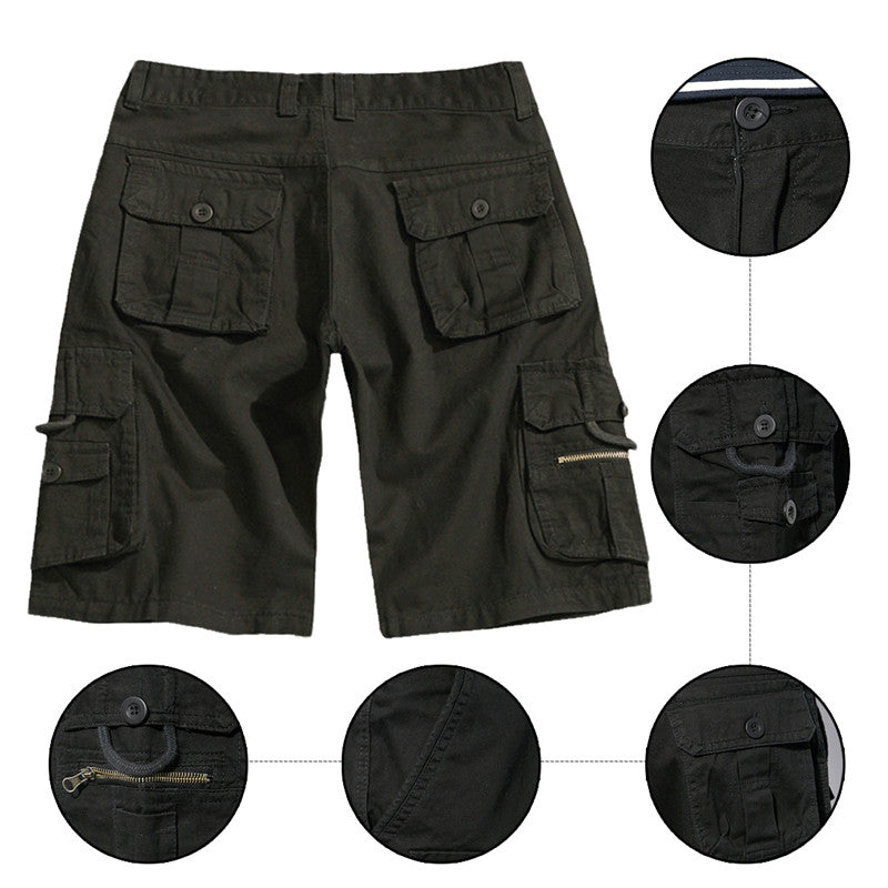 Loose Summer Casual Shorts Black