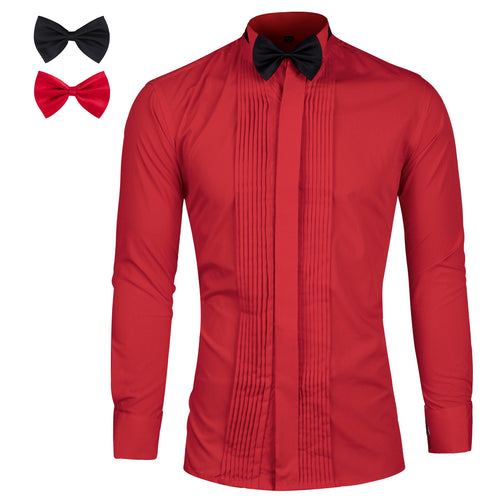 Slim Fit Dress Shirt 3 Colors
