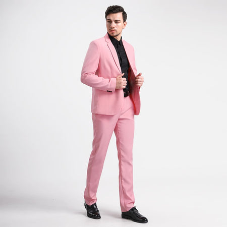 2-Piece Slim Fit Special Sequin Suit 4 Colors