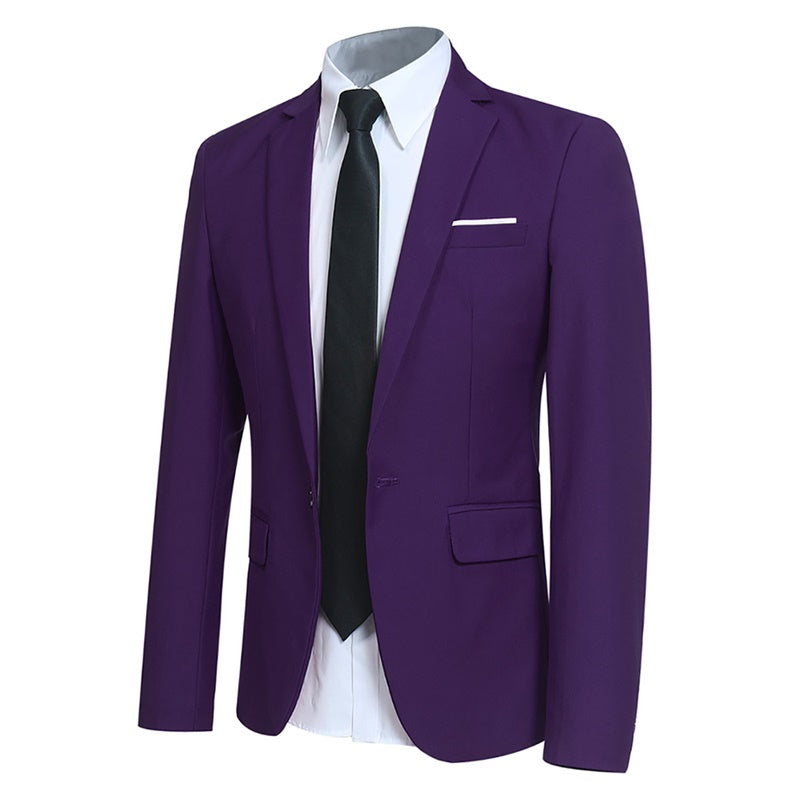 Indigo Stylish Blazer One Button Casual Blazer