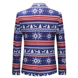 2-Piece Funny Novelty Xmas Suit Blue - Cloudstyle