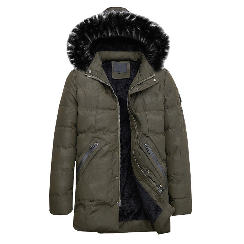 Hood Removable Faux Fur Coat 4 Colors - Cloudstyle