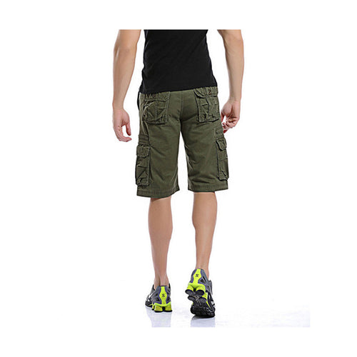 Loose Summer Casual Shorts DarkGreen
