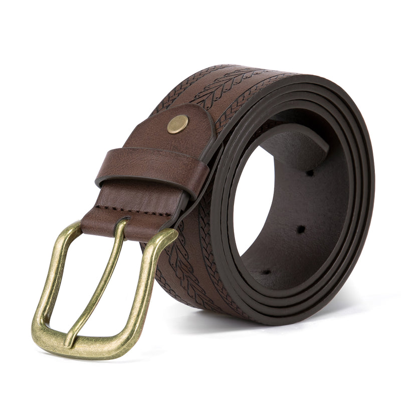 Herringbone Embossed Belt 4 Colors