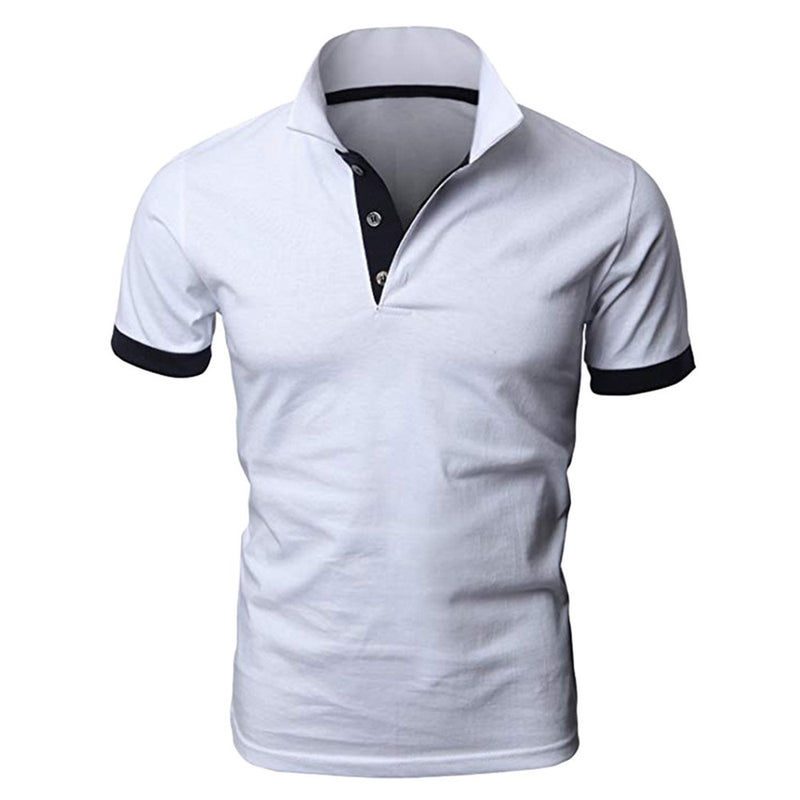 Essential Polos Short Sleeve Classic Polo Shirt 3 Colors