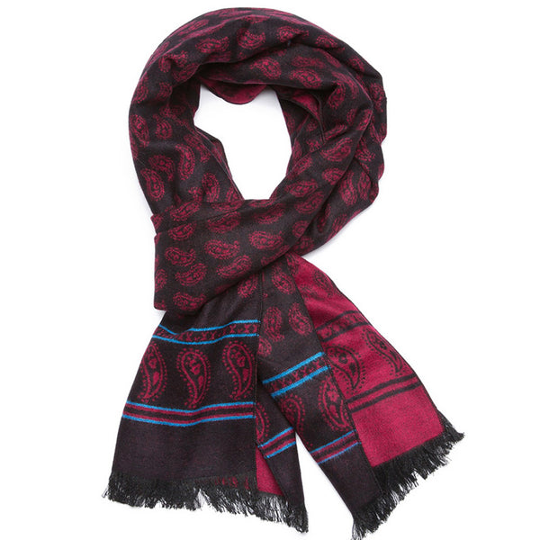 Soft Printing Warm Scarf 2 Colors