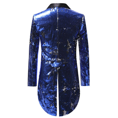 Reversible Sequin Swallowtail Blazer 3 Colors - Cloudstyle