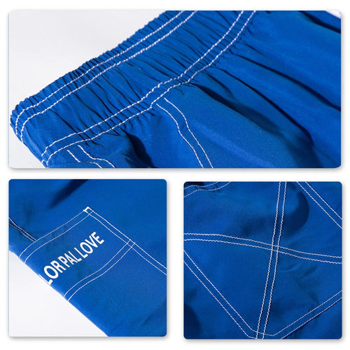 Relaxed Fit Quick-Dry Shorts Blue