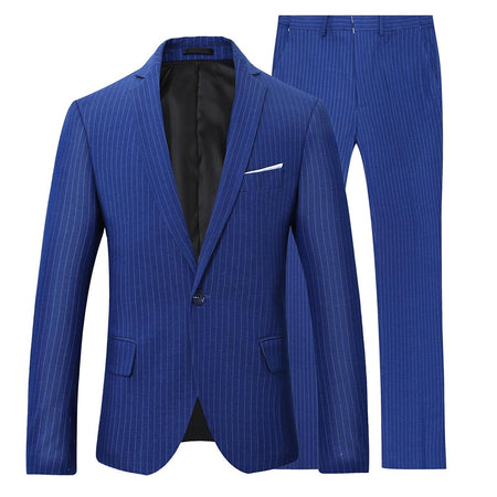 2-Piece Slim Fit Dinner Suit 2 Colors