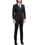 3-Piece Slim Fit Business Suit 2 Colors - Cloudstyle