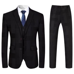 Boutique Suit Three Piece Navy Suit