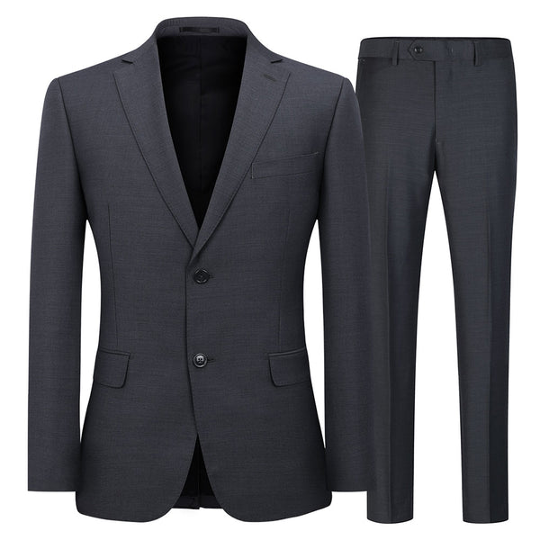 Classic Grey Two-Piece Suit
