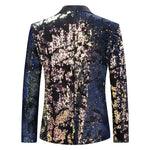 Converted Sequin Jacket Slim Fit Party Blazer