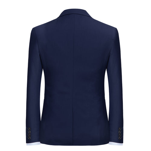 2-Piece Slim Fit Simple Designed Suit 10 Colors - Cloudstyle
