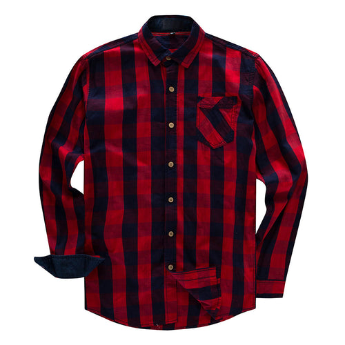 Slim Fit Check Casual Shirt 3 Colors - Cloudstyle