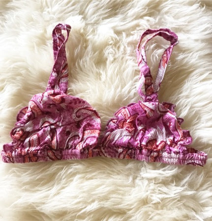 PINK PASLEY BRALETTE