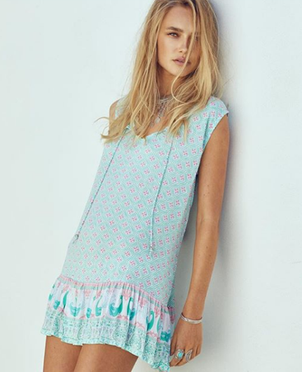 CASA DEL MAR GYPSIANA MINI DRESS - CAPRI