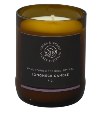 PIGEON & WEASEL LONGNECK FIG CANDLE