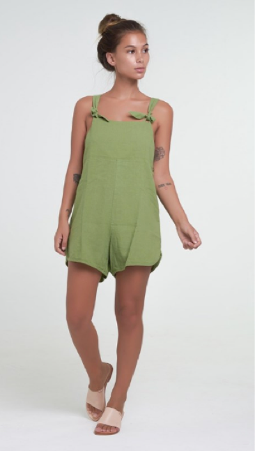 FLORENCE OVERALL - OLIVE