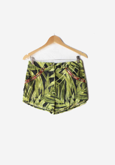 TROPICA ELECTRA CHELSEA HIGH WAISTED SHORTS