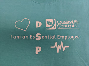 DSP Essential Employee T-shirts and Apparel