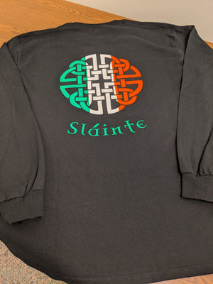 Adult Long Sleeve T-shirt-Slainte