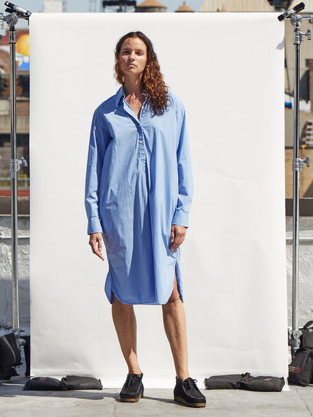 Oversized Jenny Dress in Blue
