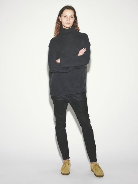Wide Rib Turtleneck