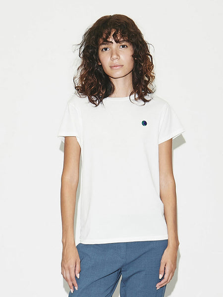 Earth Mini Boy T in New White