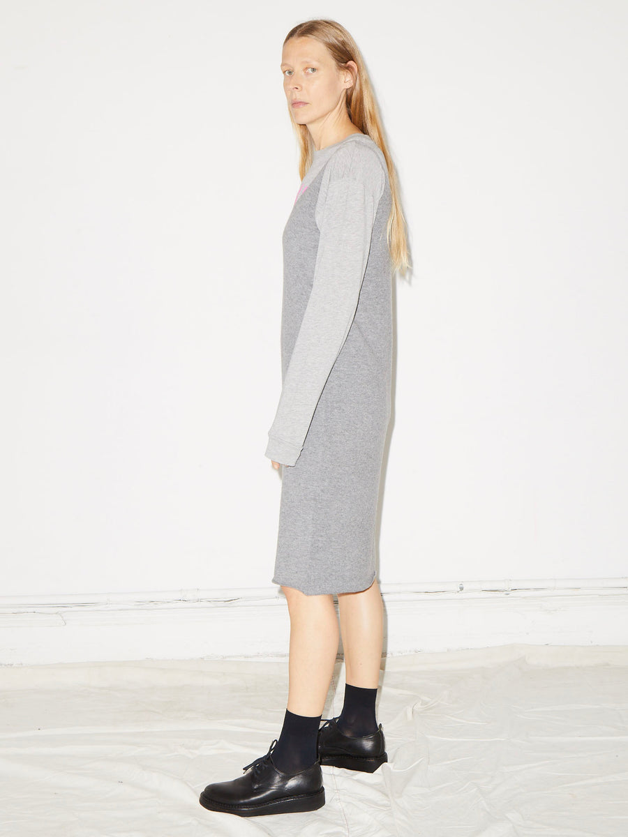 Cami Dress in Heather Grey
