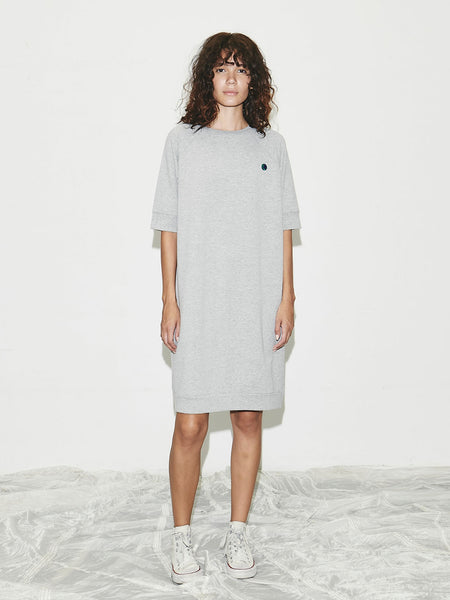 Earth Dress in Heather Grey