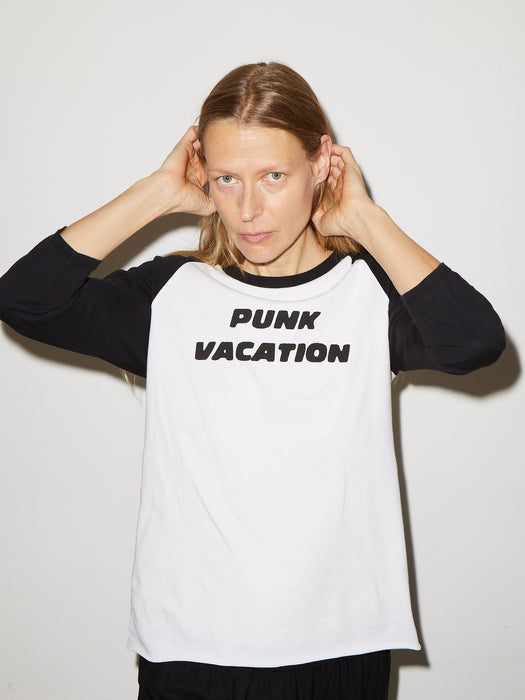 Punk Vacation Concert T in White