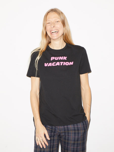Punk Vacation Boy T in Black