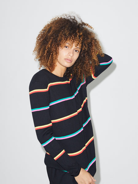 Striped Crewneck