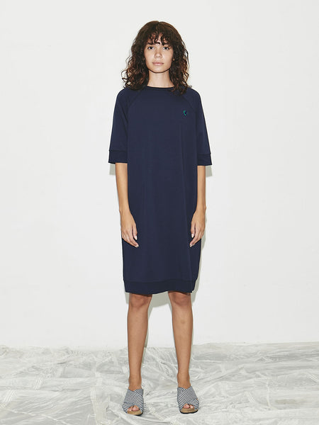 Earth Dress in Navy