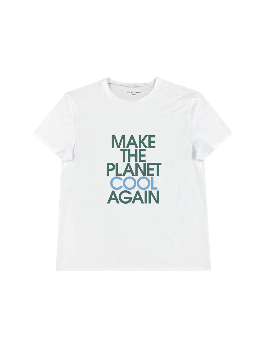 Cool Planet Boy T in New White