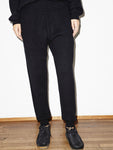 French Terry Sweatpant in Black